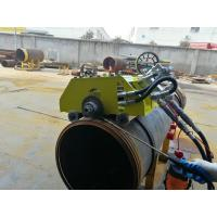 Buy cheap Hydraulic Bevel Cutting Machine For Pipes , 12 Inch Pipe Cutter And Beveler from wholesalers