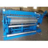 China 5.5kw Galvanized Wire Mesh Roll Welding Machine Electric Motor PLC Controlled on sale