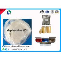 Buy cheap Surface Anesthesia Drugs Mepivacaine Base for Abdominal Surgery CAS 22801-44-1 from wholesalers