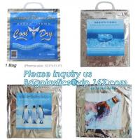 disposable aluminum foil insulated thermal cooler bag,laminated disposable