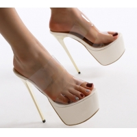 China High Heeled Slippers 0.50MM Tpu Shoe Material on sale