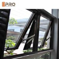 Dust Resistance Aluminum Top Hung Window For House Projects Customized Size