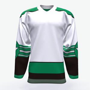 Cheap Free Design Custom Youth Ice Hockey Jerseys , 100% Polyester Ice Hockey Wear wholesale