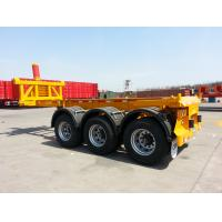Cheap 40 foot container chassis hydraulic dump trailer 45 ton  - CIMC VEHICLE wholesale