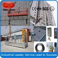 Cheap ZLP500 personal construction safety equipment suspended platform wholesale