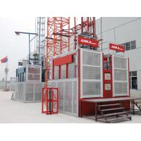 China Frequency Control Building Hoist Elevator , Hoisting Equipment In Construction on sale