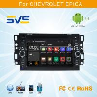 China Android 4.4 car dvd player for CHEVROLET EPICA 2006-2011 with Bluetooth DVD 16GB Quad-core on sale