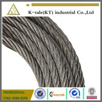 Cheap Anti-fatigue Steel Wire Rope 8*19W ,For elevators and lifts,safety rope wholesale