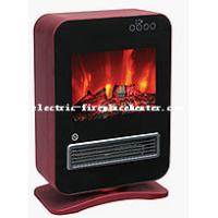 Cheap Multi Function Custom Made Desktop Electric Fireplace Real Wood Fire Effect wholesale