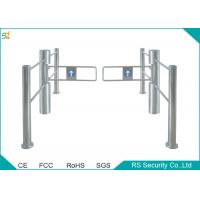 Electric Pedestrian Access Swing Barrier Arm Gates Stainless Steel