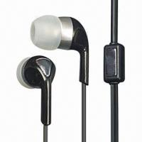 Cheap Plastic Earbuds with Piano Surface, Exquisite wholesale