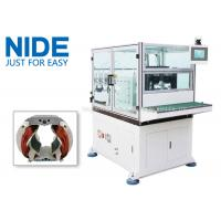 Buy cheap Automatic Double Flyer Stator Winder / Electric Motor Winding Equipment from wholesalers