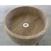 Cheap Travertine round sink wholesale