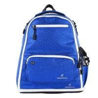 Cheap Blue Sparkle Fashion Sports Backpack Embroidery Logo For Travel Unisex wholesale