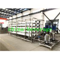 Cheap Food Beverage Reverse Osmosis Water Treatment System SUS304 1T/H-100MT/H wholesale
