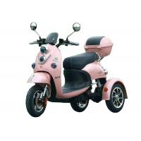 China Alloy Wheel Electric Three Wheel Motorcycle Cargo Tricycle Motor Long Rang Folding on sale