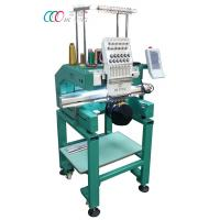 Cheap Multi-color Single Head Cap / Shirt Embroidery Machine With Auto Trimming wholesale