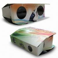 Cheap Foldable Cardboard Binoculars with with Lightweight, Made of Paper Material wholesale