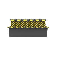 Cheap 25mm Panel 380VAC 80V 5.5KW Road Block Barrier 100 Tons wholesale