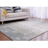 Cheap Various Style Modern Living Room Rugs , Dining Room Area Rugs Absorb Water for sale