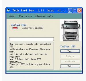 Cheap Volvo PTT 1.12 Keygen Volvo Truck Diagnostic Software Service Activation wholesale