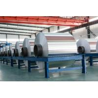 China 50-500 mm Soft Aluminium Foil Roll Jumbo Roll Food Aluminum Container Foil on sale