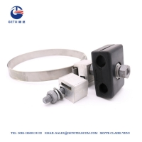 Cheap 17mm Steel 0.7 Inch ISO9001 Down Lead Clamp wholesale