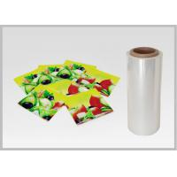 Cheap PLA Biodegradable Laminating Film , Food & Beverage Polylactic Acid Film wholesale
