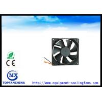 Cheap High Speed 63.73 CFM Exhaust Fan / Metal Brushless Cooling Fans 92 mm X 92 mm X 25 mm wholesale