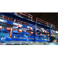 Cheap Cold Room Sandwich EPS Panel Production Line , Roll Forming Machine 13 Rows Rollers wholesale