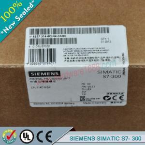 Cheap SIEMENS SIMATIC S7-300 6ES7314-6BH04-0AB0 / 6ES73146BH040AB0 wholesale