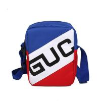 Cheap Hip hop earth cool Fanny pack pure color retro cross body bag with character word mother and daughter bag wholesale