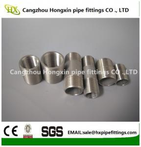 Cheap NPT/BSP stainless/carbon steel socket weld pipe coupling,threaded half/full coupling wholesale