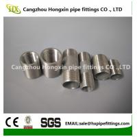 Buy cheap 1/8-6 inch 316L,304 stainless steel threaded both end pipe barrel nipple from wholesalers