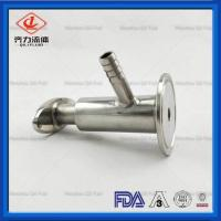 Cheap High Polished Tri Clamp Sample Valve  Hygienic Sample Valves Long Working Life wholesale
