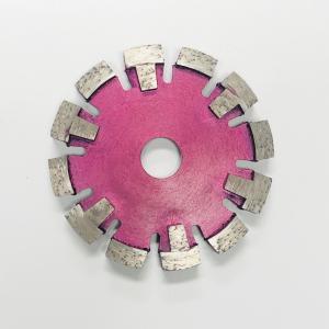 Cheap 125mm 17mm Protection Teeth Tuck Diamond Saw Blades For Medium Hard Concrete wholesale