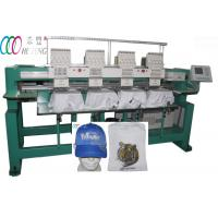 Cheap 4 Heads Cap / T-shirt Tubular Embroidery Machine For Clothing wholesale