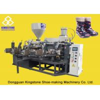 Cheap PVC Short Gum boots Injection Machine , Automatic Safety Shoe Making Machine  wholesale