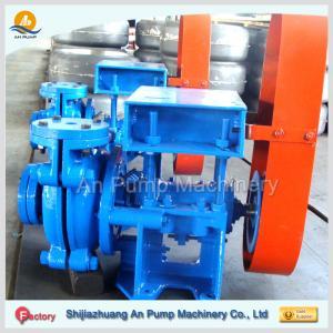 Cheap electric motor drive horizontal ash slurry pump china manufacturer wholesale