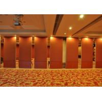 Cheap Red Plaster Move Walls Wooden Partition In Living Room For Conference Rooms wholesale