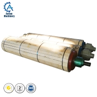 Cheap Paper Product Making Machinery Stainless Steel Breast Roll For Paper Machine Wire Part wholesale