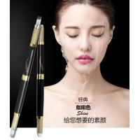Buy cheap Black Multifunctional Microblading Eyebrow Tattoo Pen Double Heads 30G OEM from wholesalers