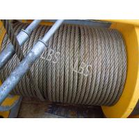 Cheap Three Layers Spooling Winch Drums with Lebus Grooving for Lifting Area wholesale