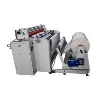 Cheap precision paper roll to sheet cutting machine with slitting function wholesale
