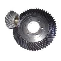 Cheap Standard 20crmnti Spiral Bevel Gear With Keyways / Bevel Pinion Gear wholesale