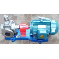 Buy cheap YCB Stainless steel circle arc gear oil transfer pump high viscosity liquids from wholesalers