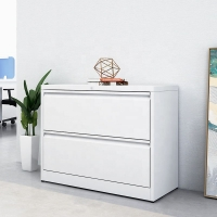Buy cheap white A4 FC file storage 2 drawer steel lateral cardboard metal drawing filing from wholesalers