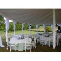 25x40m Fireproof Aluminum Structure White Wedding Event , Outdoor Party Tent