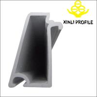 Buy cheap Invisible Green/Coffee/DarkGrey/etc.60 Singling Glazing Bead plastic pvc profile from wholesalers
