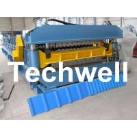 Cheap Double Layer Roof Wall Panel Cold Roll Forming Machine for Two Different Roof Panels wholesale
